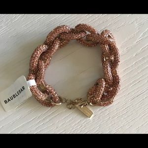 Bauble Bar Rose Pave Bracelet